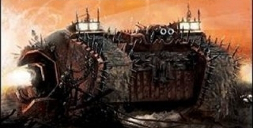 Chaos Marines: Forgefiends, and Land Raiders
