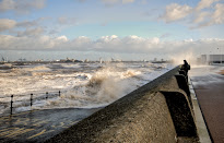 Rough Seas on Promenade