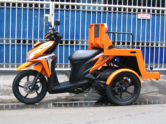 Top modifikasi motor 3 roda