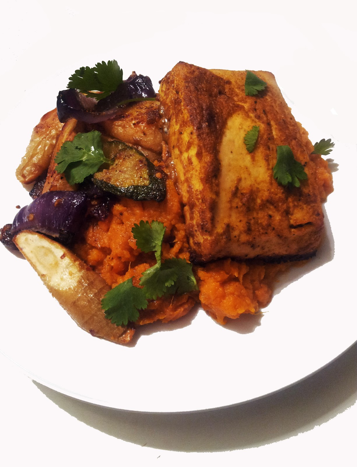 A Profound Hatred of Meat: Tandoori Tofu with Sweet Potato ...