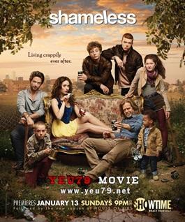 Không Biết Xấu Hổ 3 - Shameless Season 3 (2013) Poster