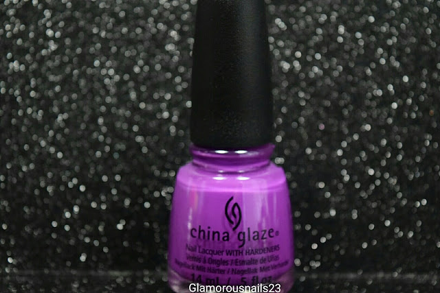 "China Glaze Electric Nights ""Violet-Vibes"""