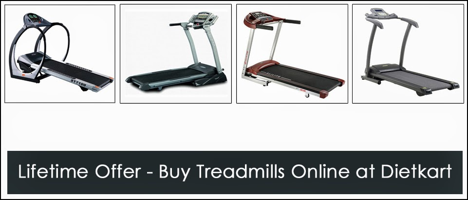 Domestic Treadmills Online in India - Dietkart