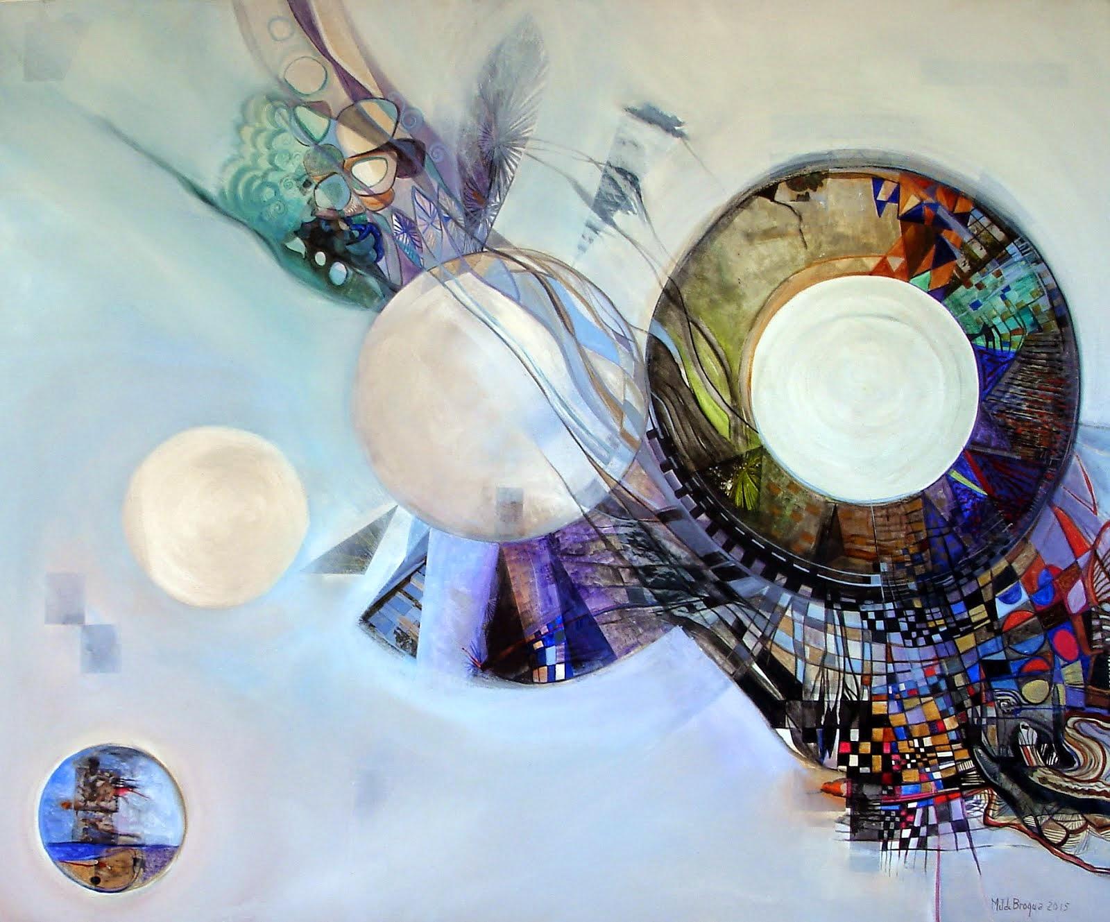 Une saveur d'éternité - 120 x 100 cm - 2015