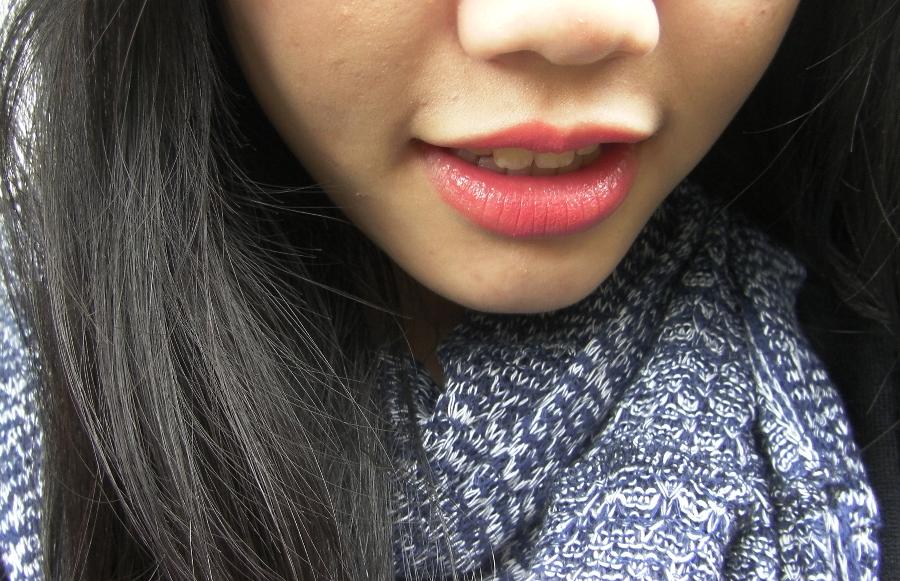 revlon colorburst lipstick peach review swatch