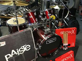 Cookes Band Instruments Mapex Tornado drum kits