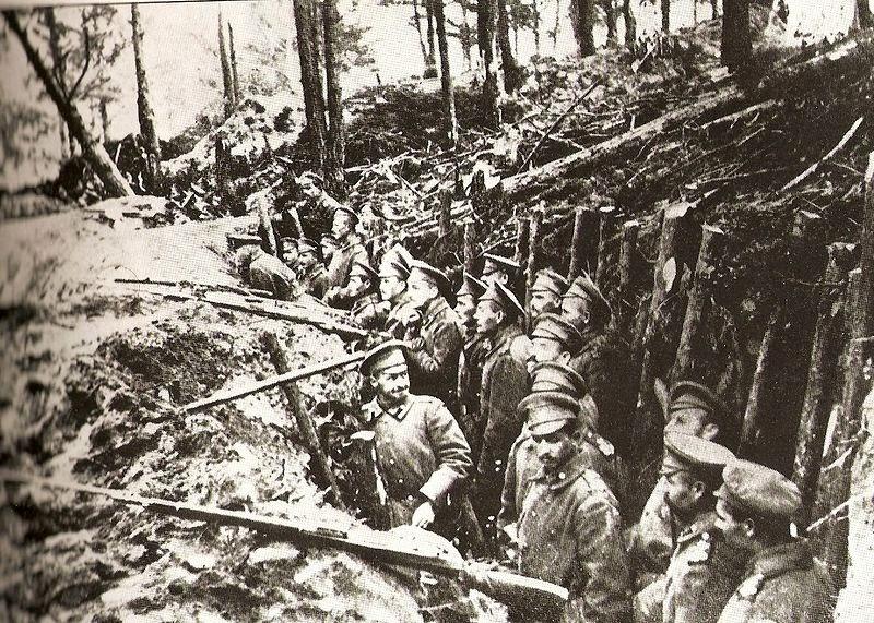 Russian Army at Battle of Sarikamish