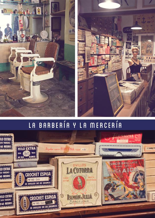 barberia merceria vintage