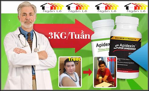 Thuốc giảm cân Apidexin cực kỳ hiệu quả