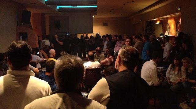 ΧΡΥΣΗ ΑΥΓΗ ΠΑΝΤΟΥ - Ομιλία του Ηλία Κασιδιάρη στις Αχαρνές (Μενίδι)