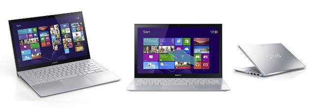 "Sony Vaio Pro SVP 13"" Touchscreen Ultrabook"