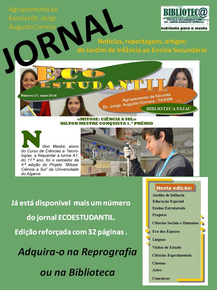Jornal ECOESTUDANTIL