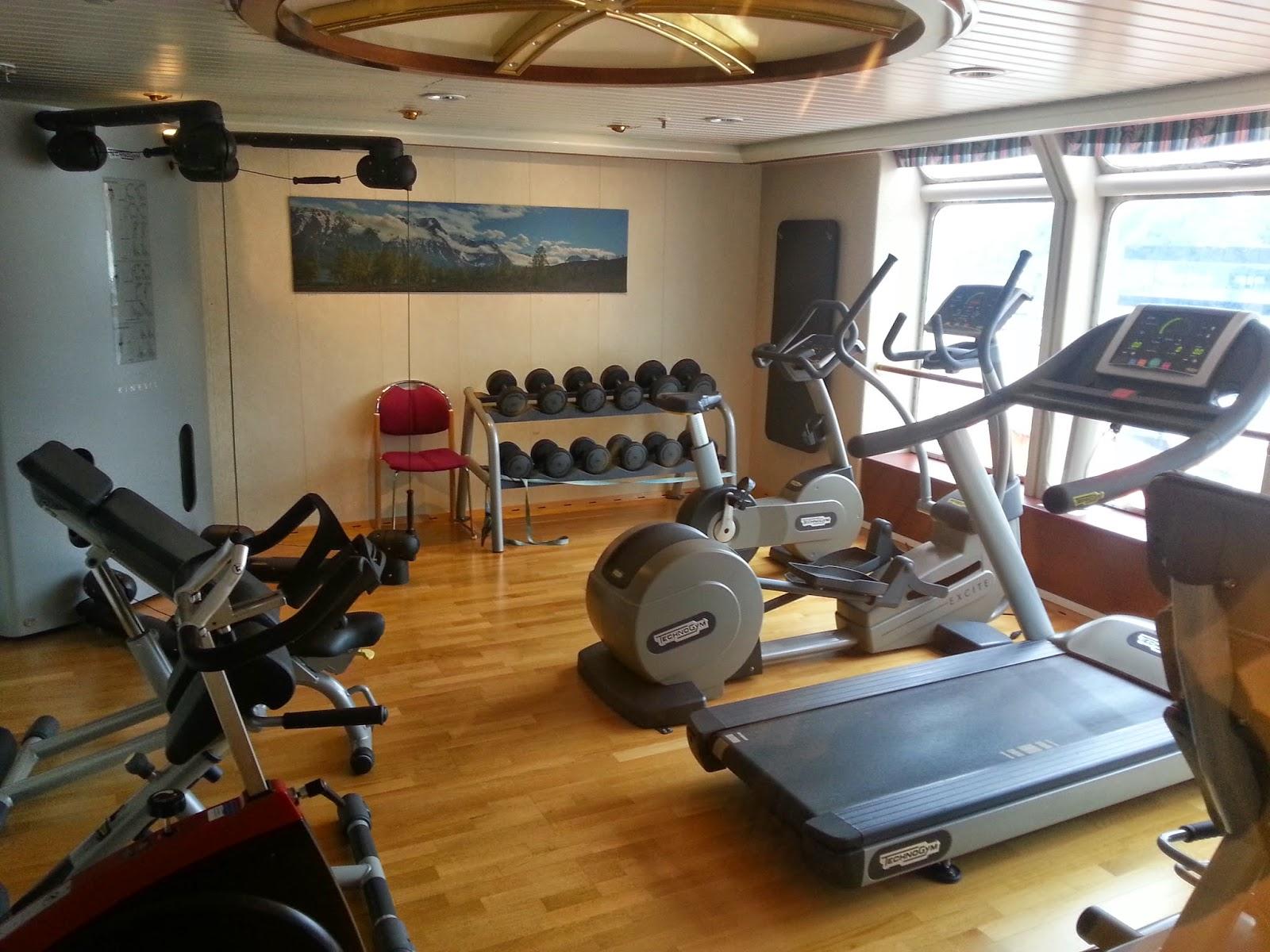 Hurtigruten MS Richard With - Fitness Room