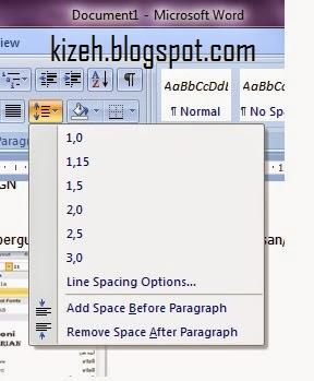 Penjelasan tab home microsoft word 2010