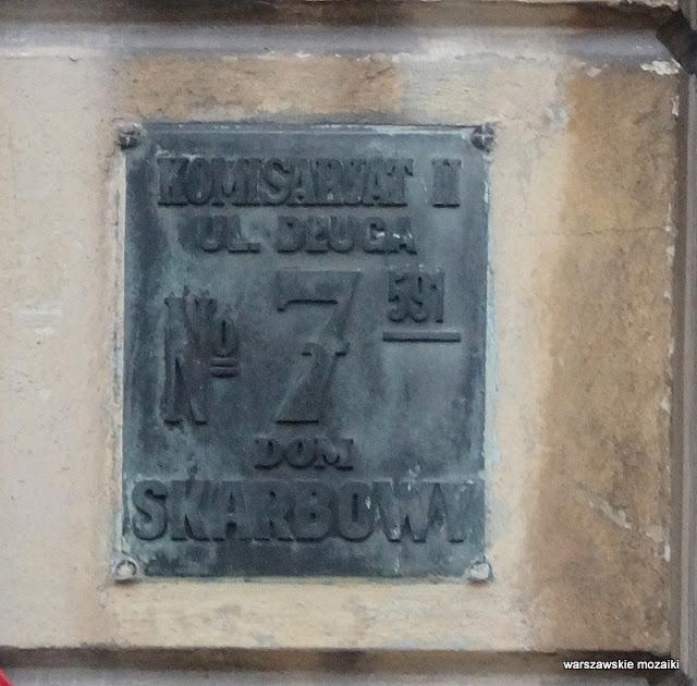 Warszawa Warsaw Nowe Miasto Archiwum Główne Akt Dawnych Długa 7 klasycyzm