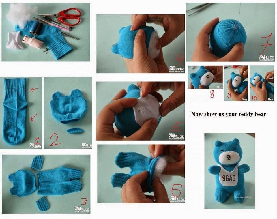 Мягкие игрушки своими руками как делать