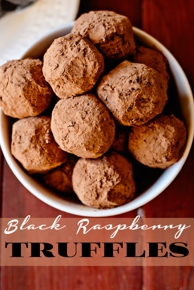 Black Raspberry Truffles Recipe