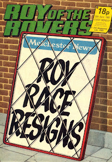 1982/83 Season Roy Race Resigns!