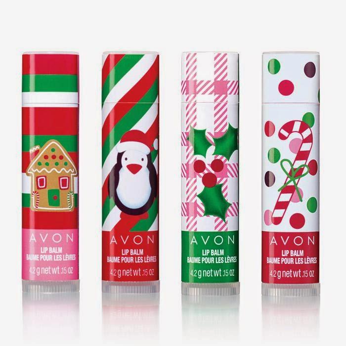 Avon stocking stuffers - Christmas lip balm