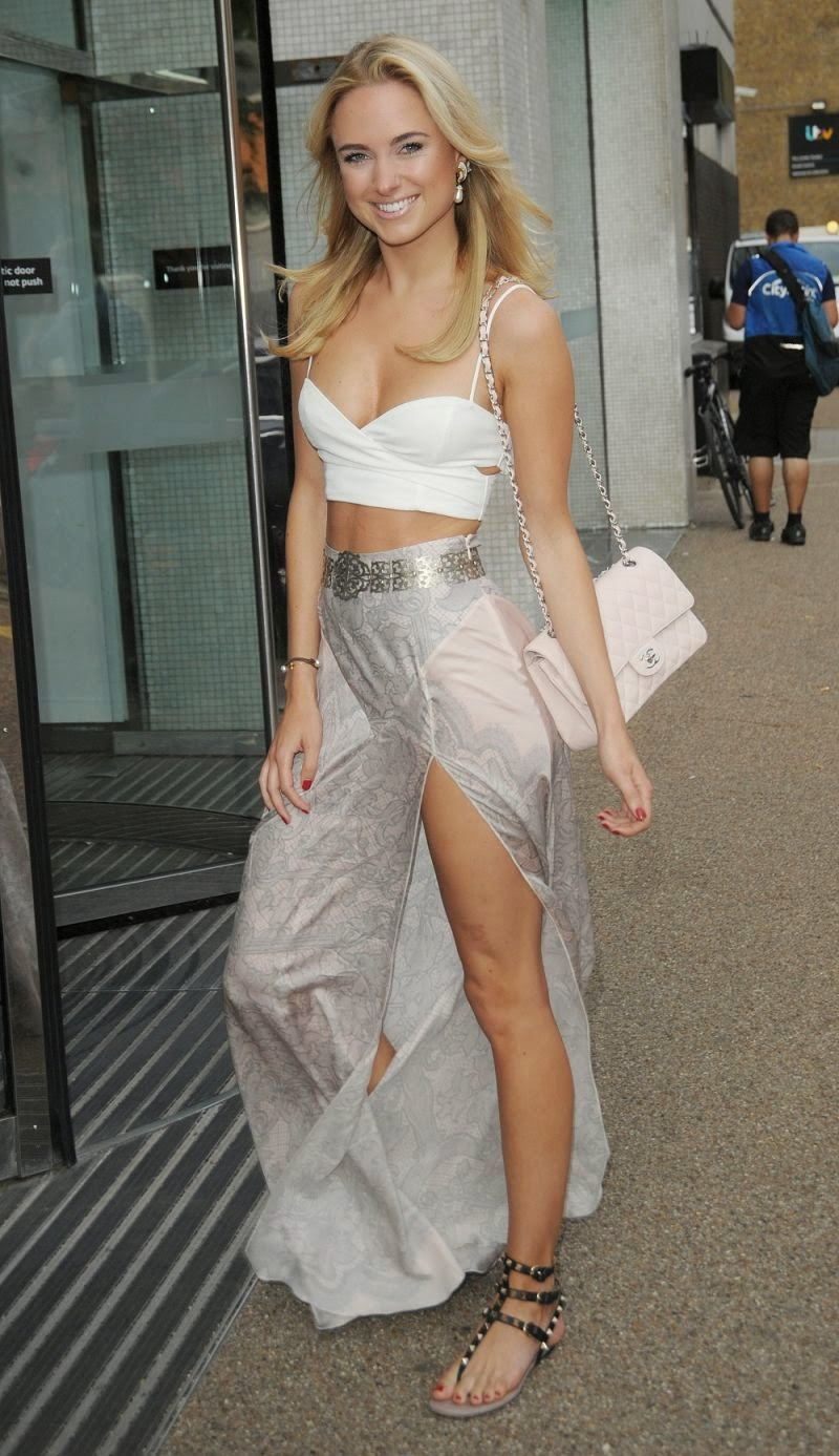 Gorgeous Pictures of Kimberley Garner at ITV Studios