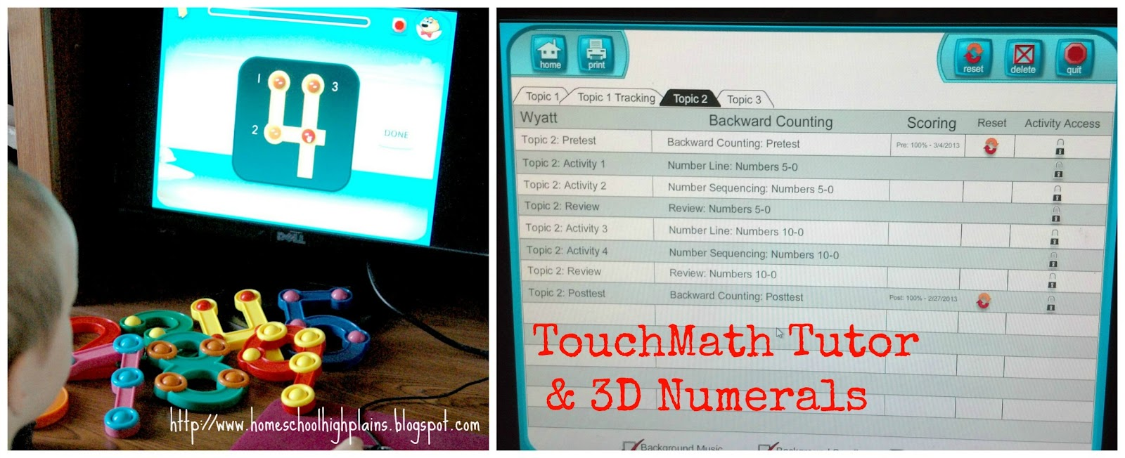 Loving and Learning on the High Plains: Review: TouchMath Kindergarten