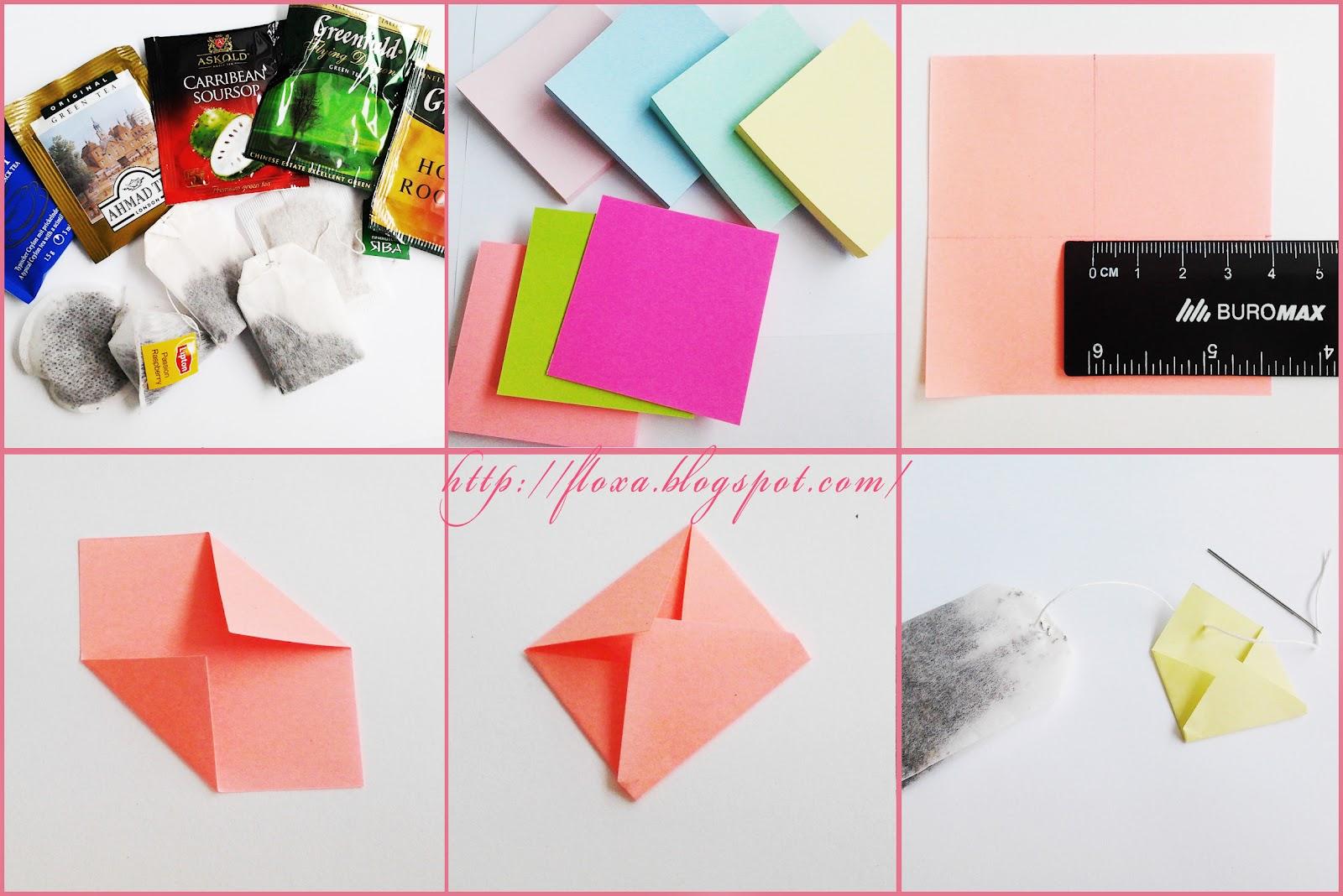 Как сделать открытку с конвертиками для пожеланий 61