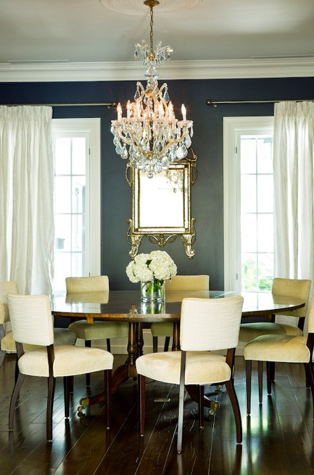 Design dump classy dining room for Dining room ideas grey walls