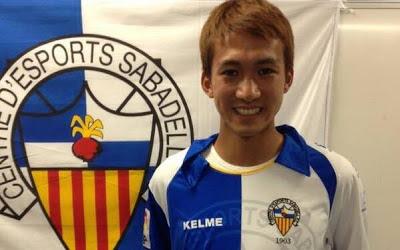 Sotan Tanabe Bergabung Ke Sabadell
