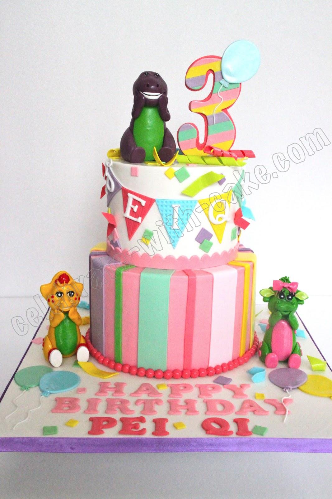 barney cake - photo #33