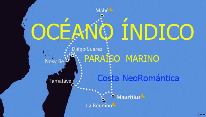 OCEANO INDICO, PARAISO MARINO