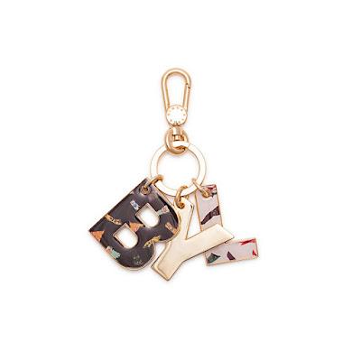 saldos  Wish list da Bimba&Lola - porta-chaves com letras
