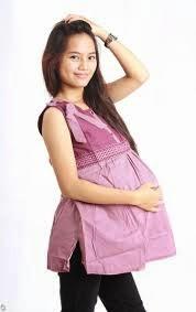 Model Baju Hamil Muslim Trendy 5 Bulan