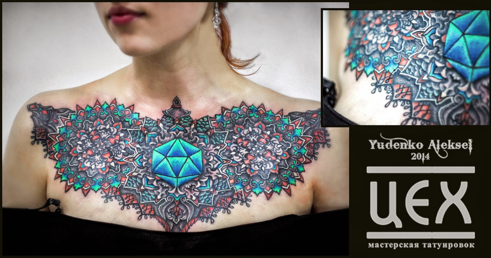 цветные татуировки эскизы - Эскизы цветных татуировок для мужчин