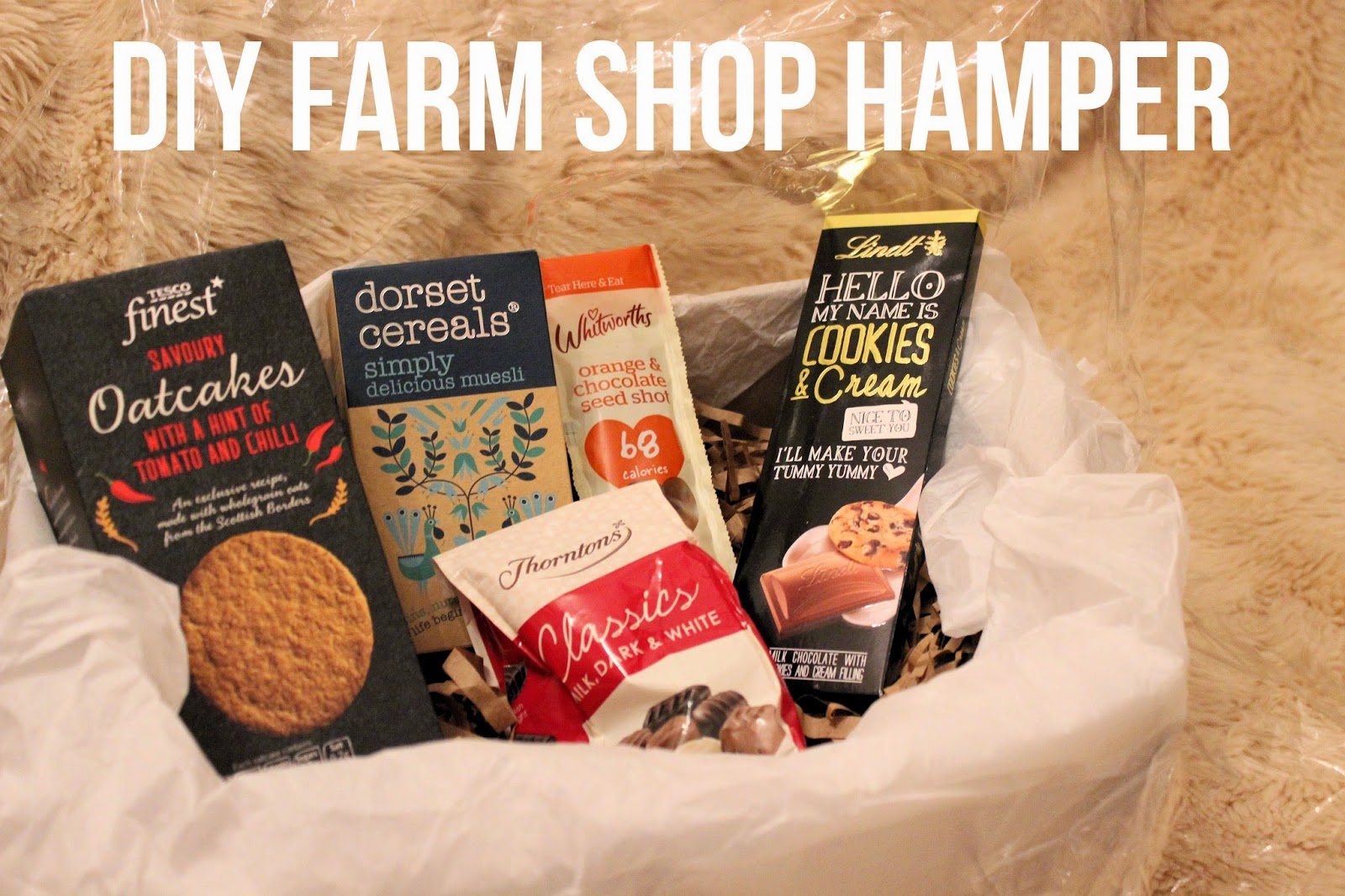 DIY Farm Shop Hamper