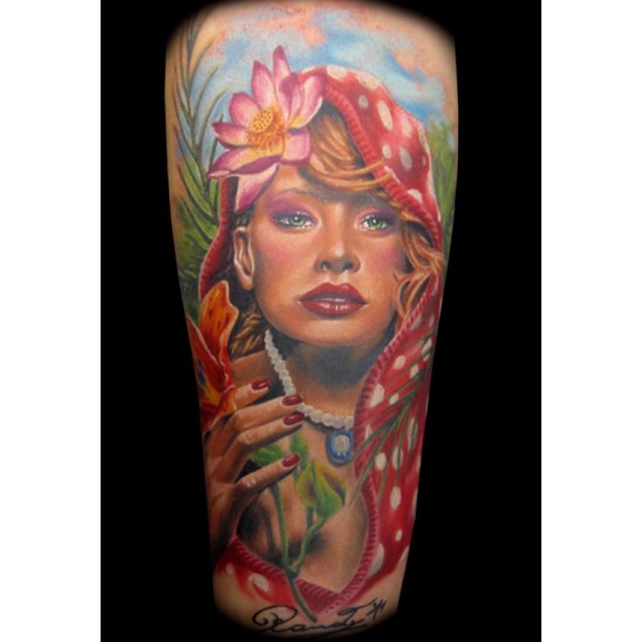 GRIFFE TATTOO: RANDY ENGELHARD Tattoo