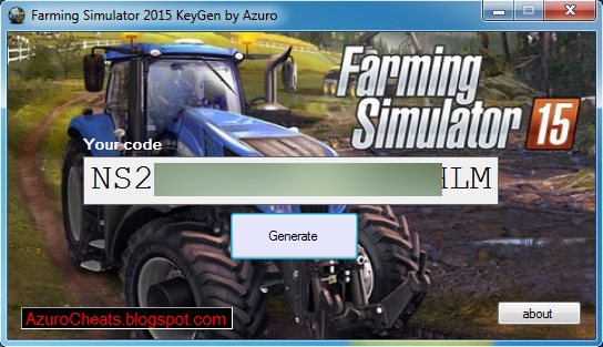 farming simulator 2015 key
