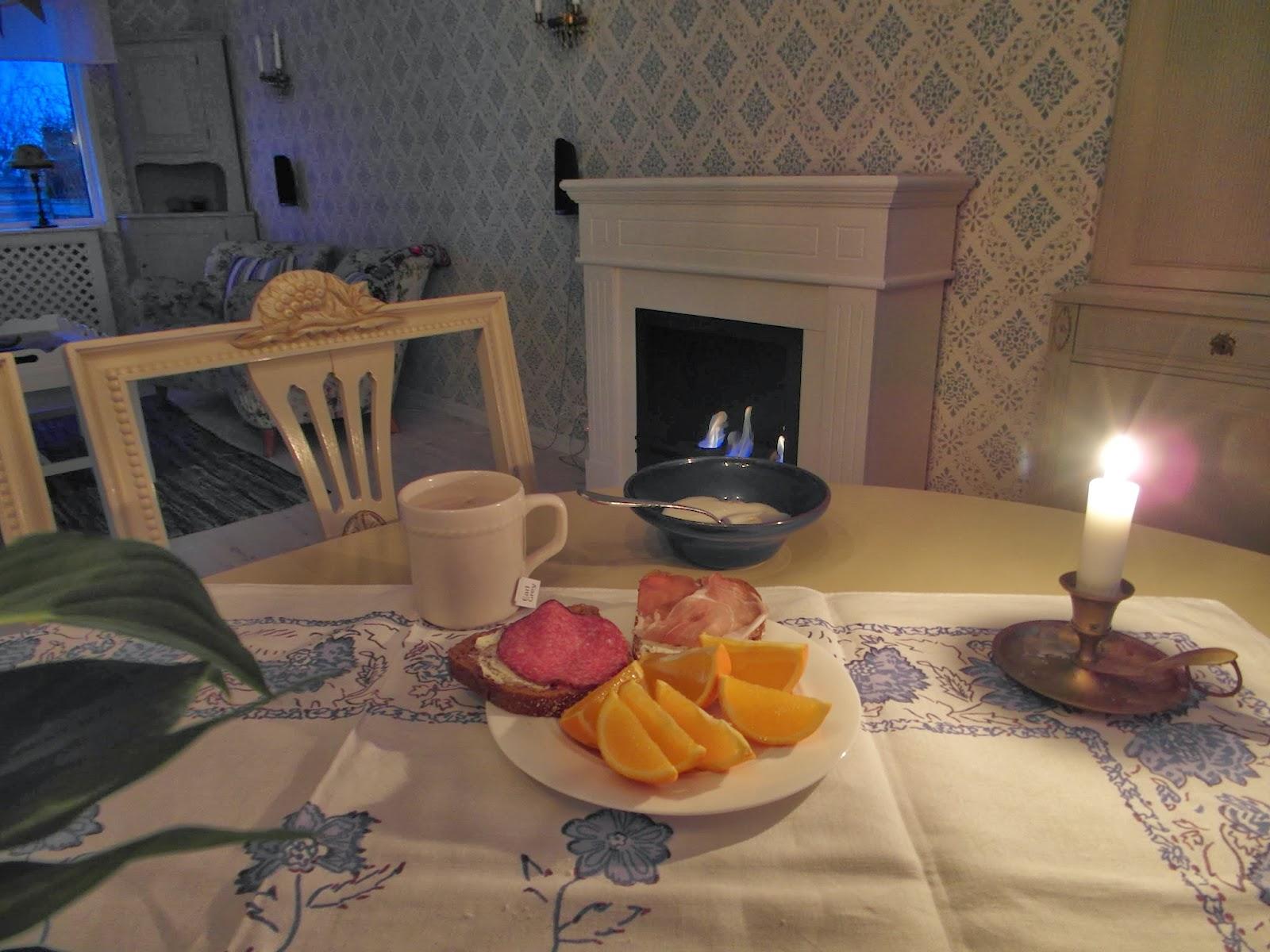frukost appelsin