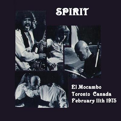 Spirit - El Mocambo - Toronto - Canada - February 11th 1975