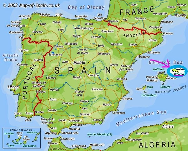 Menorca The Windy Island