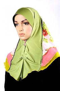 Koleksi Tudung untuk Muslimah yang cun, terkini dan cantik