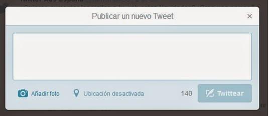 publicar tweet