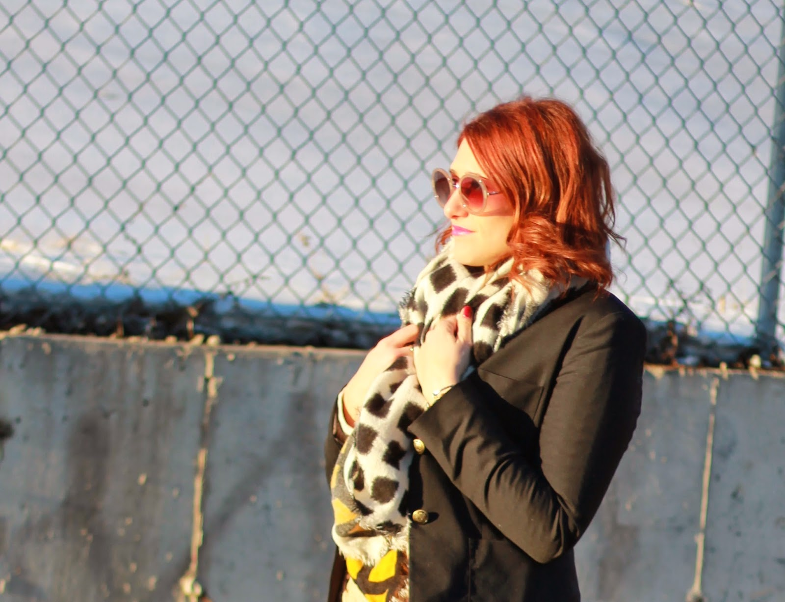 zara, blanket, scarf