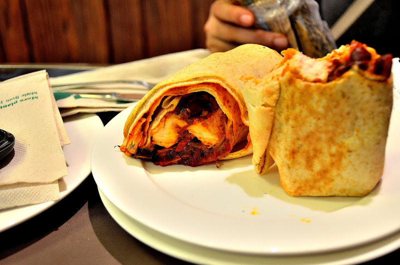starbucks mexican wrap at morocco mall