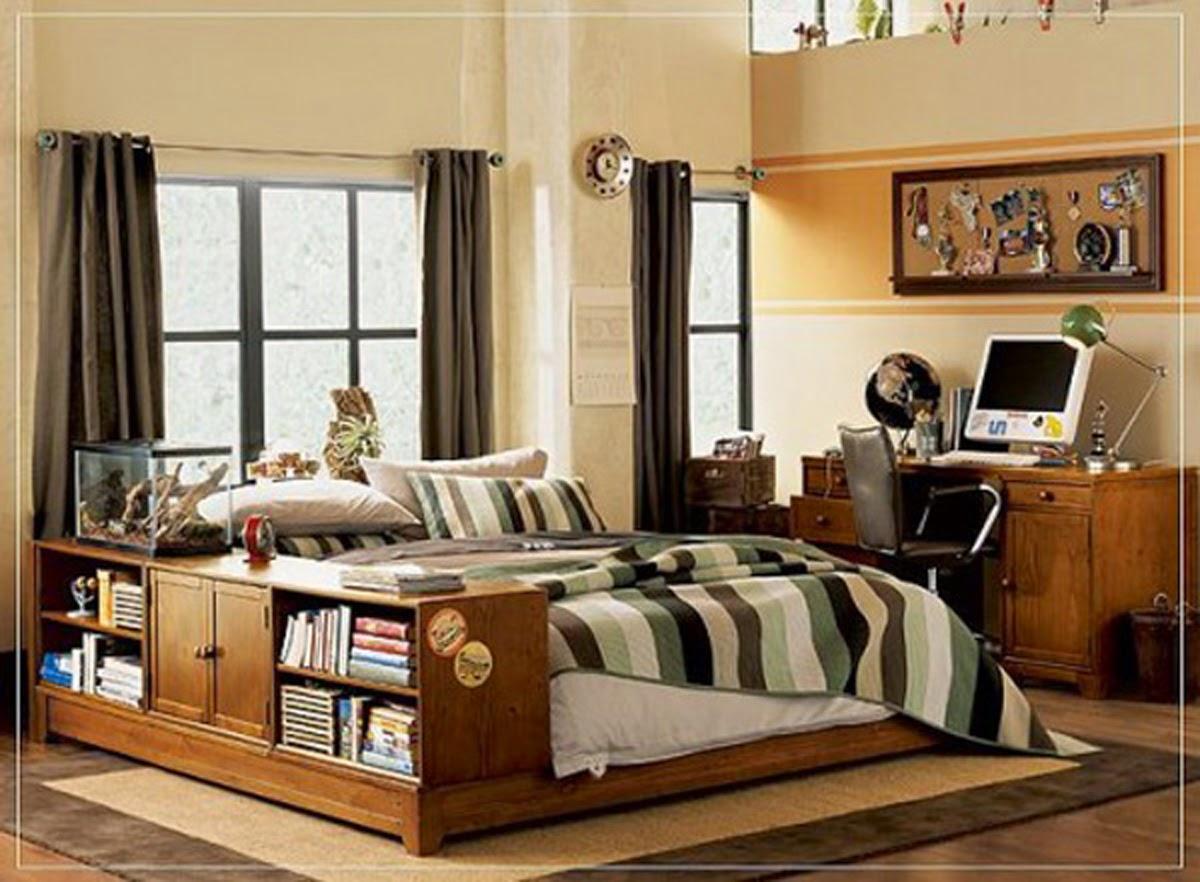 foto desain kamar anak laki-laki