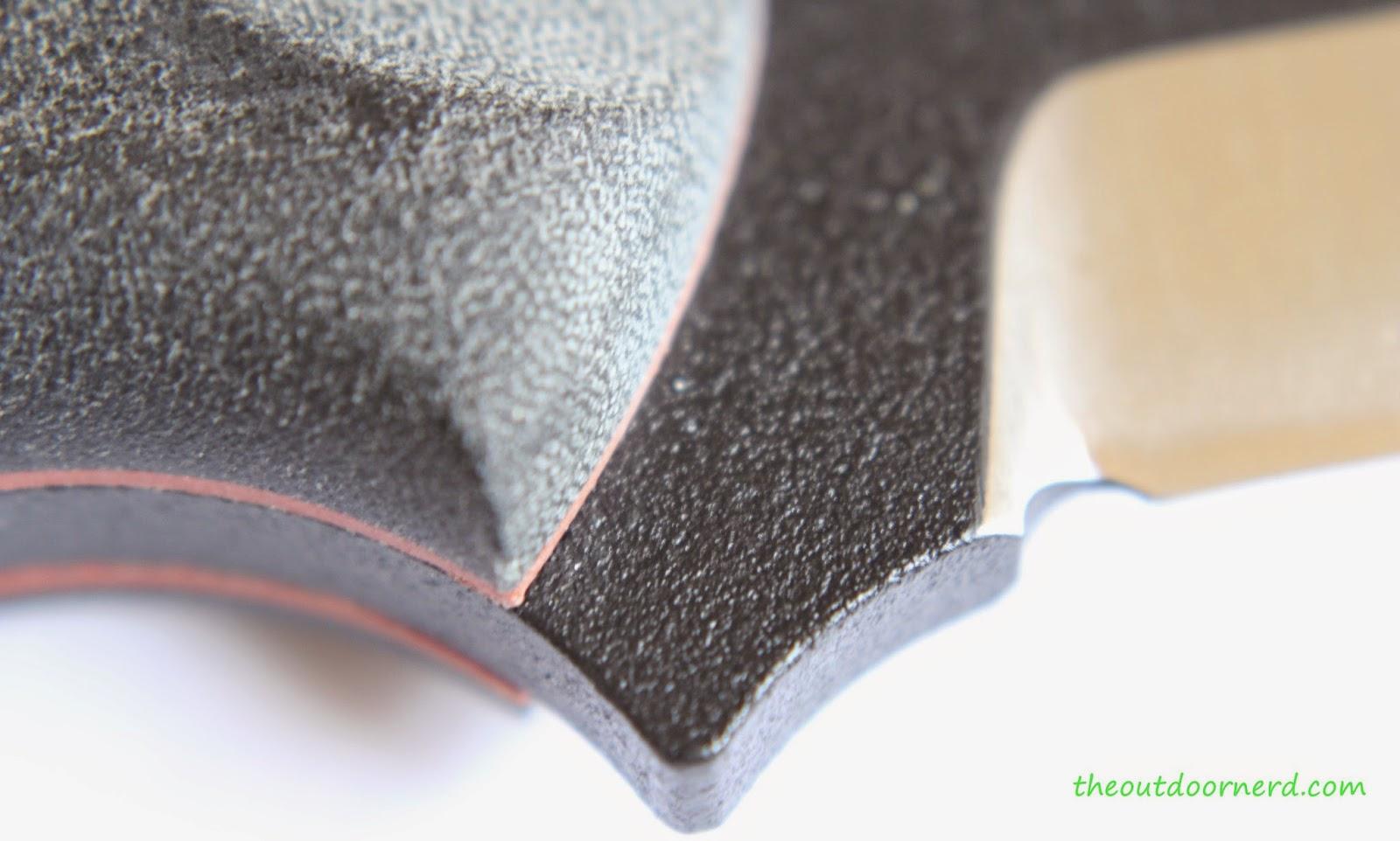 Tops Fieldcraft Fixed Blade Knife: Choil Closeup