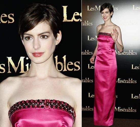 Anne Hathaway Gana: It Cames True: Anne Hathaway De Prada (y Armani) Gana Su Oscar