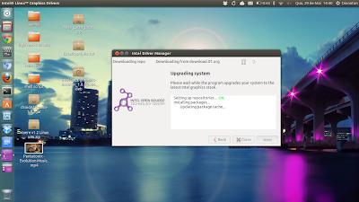 Instalador de Drivers da Intel para Ubuntuq