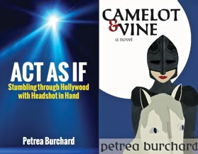 Act As If and Camelot & Vine are available on Amazon and in some SoCal shops.