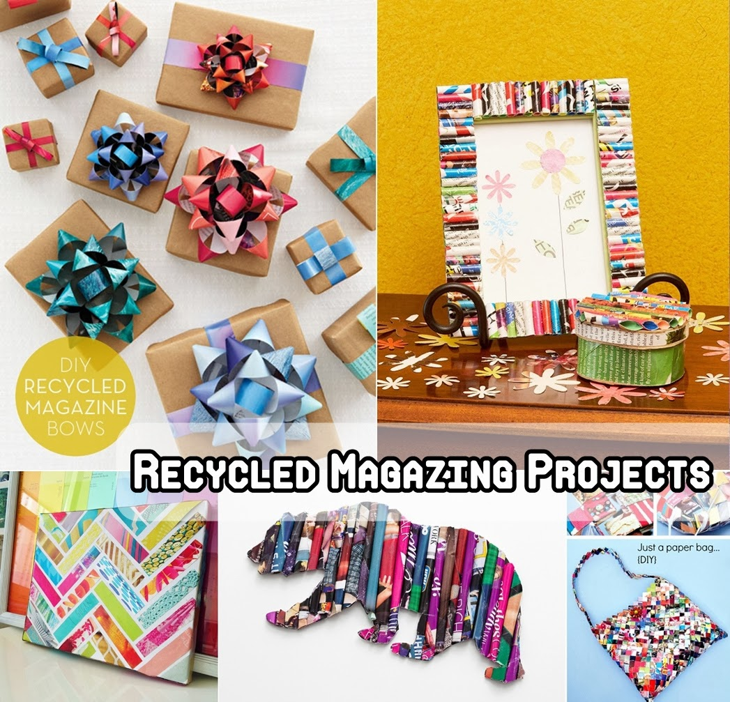 Recycled Magazing Projects