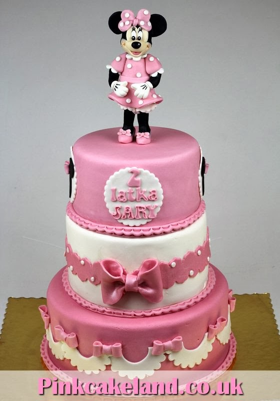 London Patisserie Minnie Mouse Pink Cake